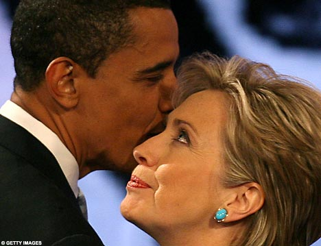 Clinton and Obama Secret Meeting