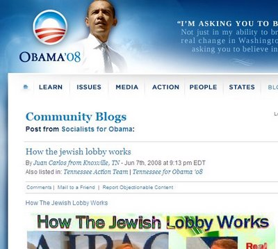 Obama How Jewish Lobby Works Screencap