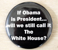 Obama 'White House' Buttons