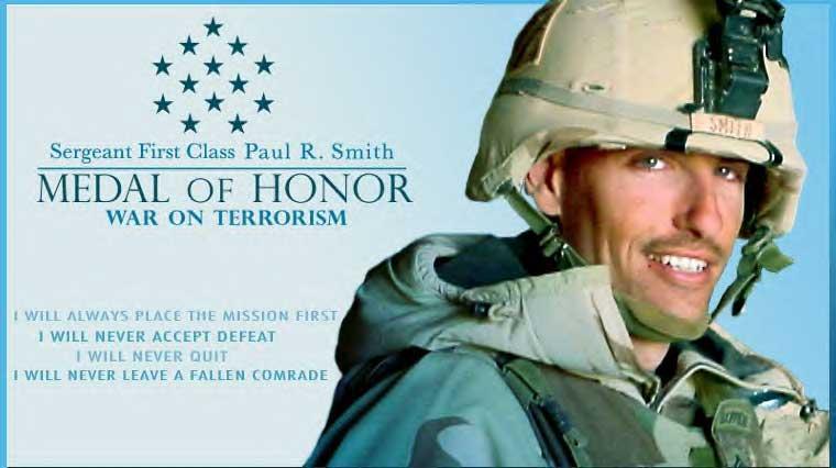 SFC Paul R. Smith, Medal of Honor
