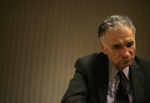 Ralph Nader:  Obama Not Black Enough Photo by Judy DeHaas Ralph Nader, who is running for president, talks about Barack Obama in his Washington, D.C., office Monday. Nader said Obama should candidly describe the life of the poor.