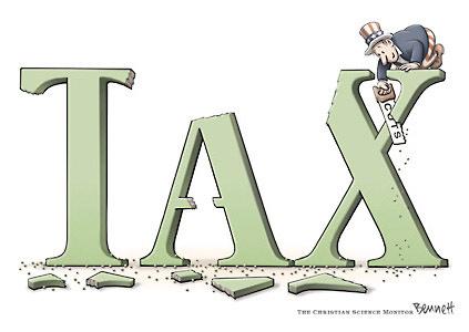 Tax Cuts Cartoon