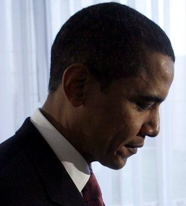 Barack Obama Polls Down