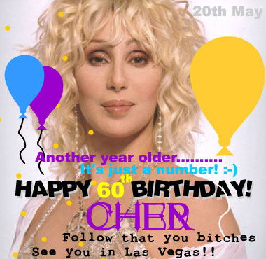 Cher 60th Birthday