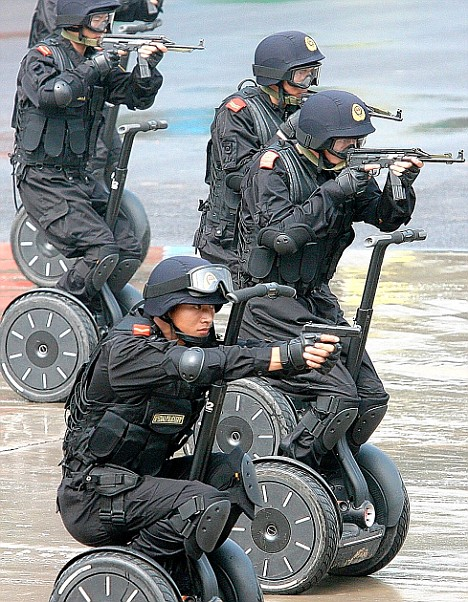 China Segway Cops Photo