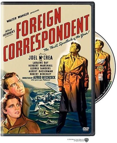 Hitchcock Foreign Correspondent