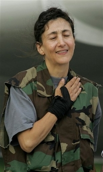Ingrid Betancourt Rescued by Colombia Army
