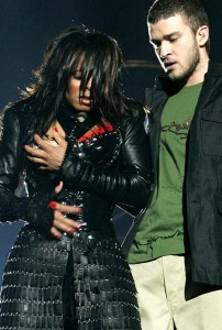 Dressed up: Janet Jackson\'s Super Bowl flash inspired the term \'wardrobe malfunction\'