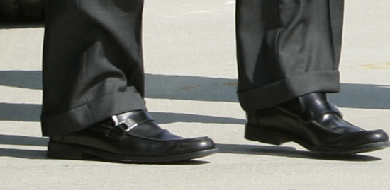 John McCain's Ferragamo Loafers Photo