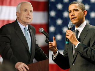 McCain - Obama Afghanistan and Iraq Speeches