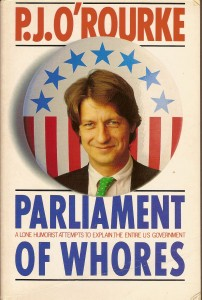 P.J. O\'Rourke A lone humorist attempts to explain the US government