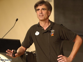 Randy Pausch emphasized the joy of life in his \'last lecture,\' originally given in September 2007.