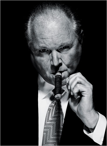Rush Limbaugh Cigar Photo