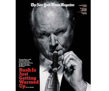 Rush Limbaugh Just Getting Warmed Up, Signs $400 million contract