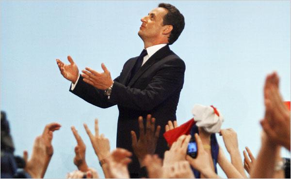 Sarkozy Wins Photo