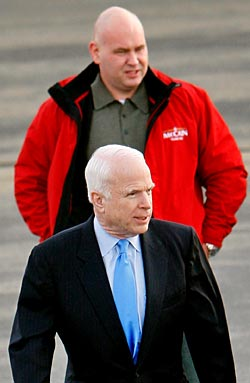 Steve Schmidt takes charge of John McCain\'s campaign strategy