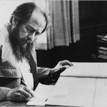 Associated Press  Mr. Solzhenitsyn at work in the Hoover Library in Stanford in 1976