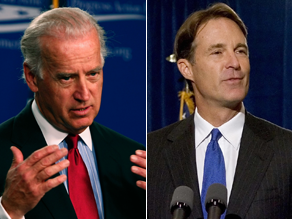 Joe Biden and Evan Bayh Photo