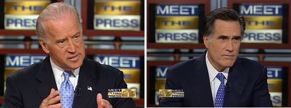 Biden and Romney Vice President