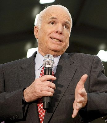 McCain Rules Out One-Term Pledge.  Again.