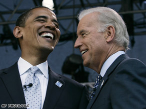 Biden chosen as Obama\'s VP running mate