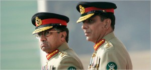 Anjum Naveed/Associated Press President Pervez Musharraf, left, with Gen. Ashfaq Parvez Kayani, who succeeded Mr. Musharraf as chief of the army last year. General Kayani previously led the ISI, Pakistan's premier military intelligence agency.