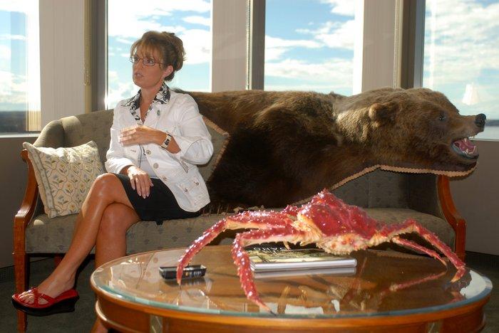Sarah Palin Legs Photo