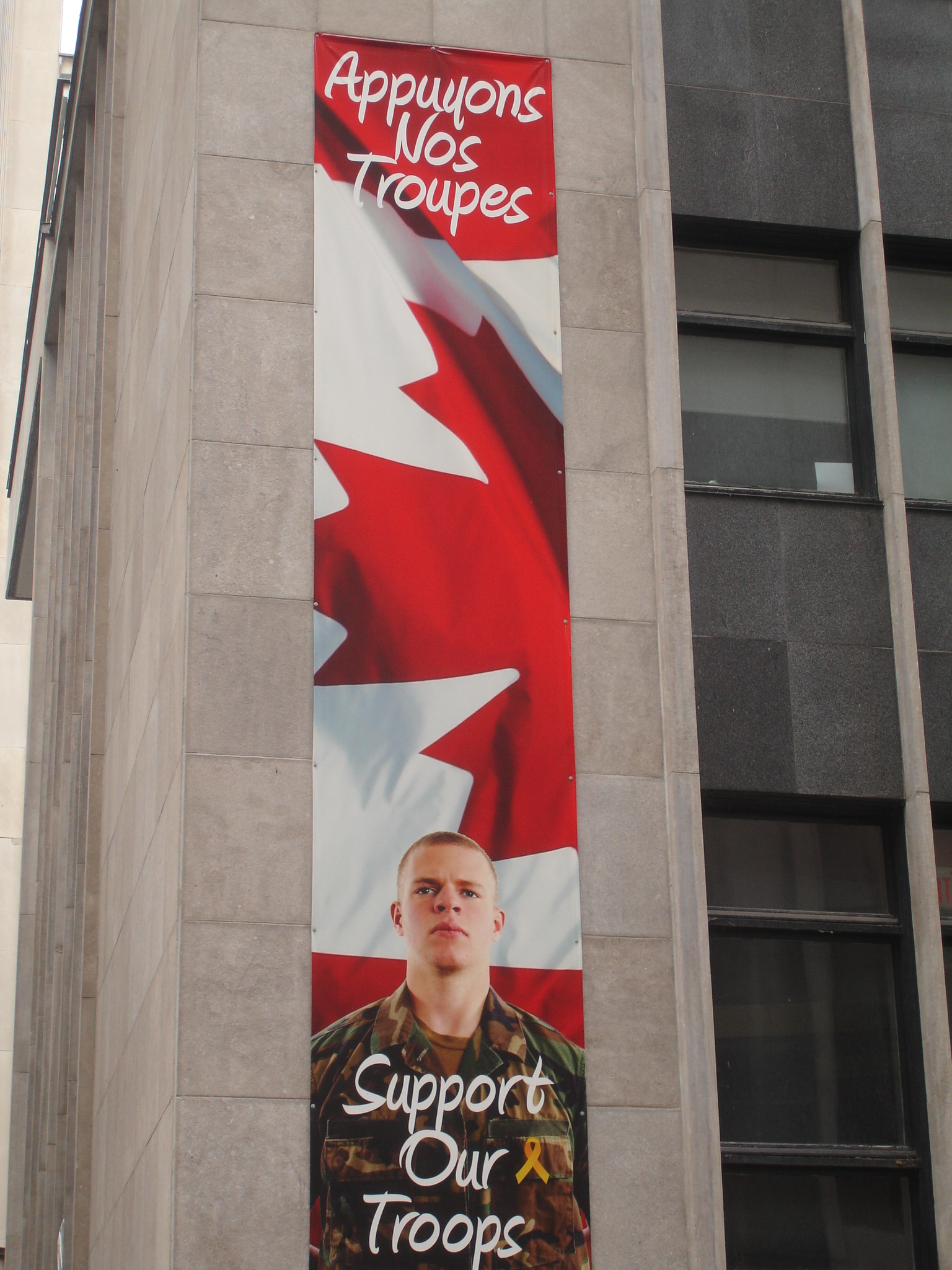 Support Our Troops Montreal