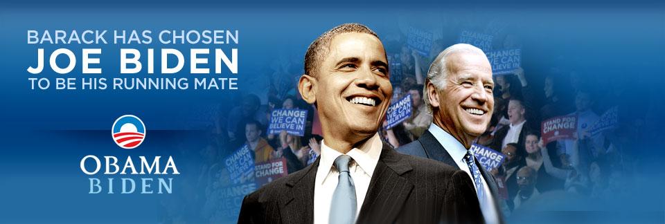 Obama Taps Joe Biden for VP - Storybook, Man