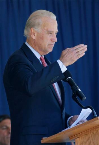 Joe Biden Salutes Son Headed to Iraq