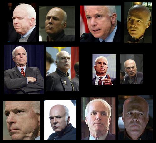 John McCain and Michael Hogan: Separated at birth?