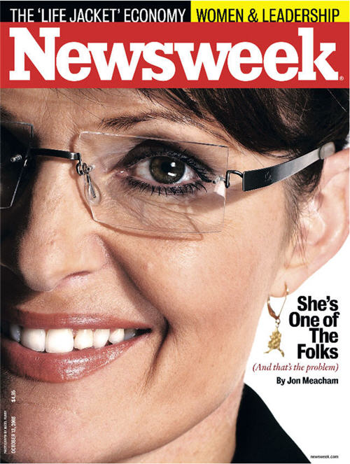 Sarah Palin 'One of the Folks' NEWSWEEK Cover