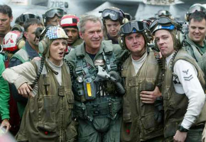 Bush Flight Suit USS Lincoln