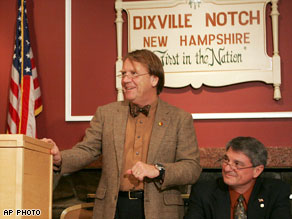 Dixville Notch, New Hampshire, is the first in the nation to vote in the primaries and Election Day.