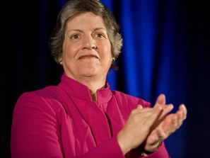 Arizona Gov. Janet Napolitano has been chosen to be secretary of the vast and troubled Department of Homeland Security. Photo: AP