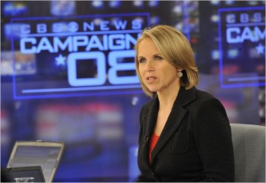 Katie Couric is leading CBS News' election coverage. John Filo/CBS News
