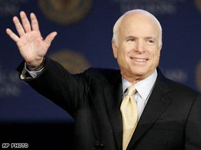 Sen. John McCain has won the state of Missouri.