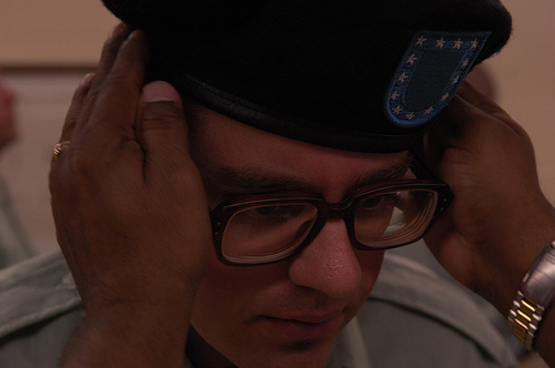 army-beret