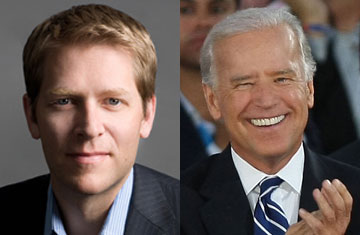Jay Carney and Joe Biden