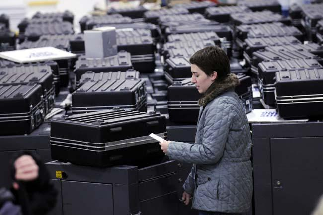 Minnesota Recount Maplewood Ballots Photo