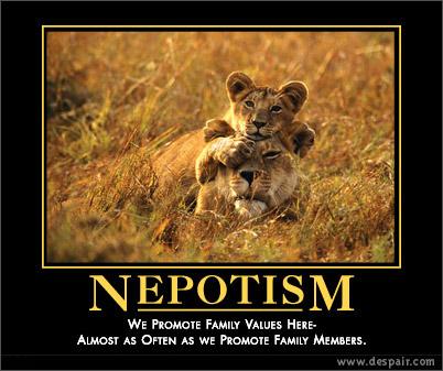 Nepotism Poster