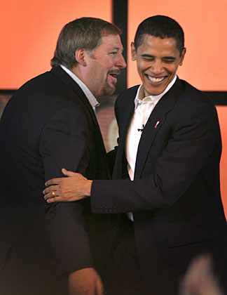 Rick Warren and Barack Obama