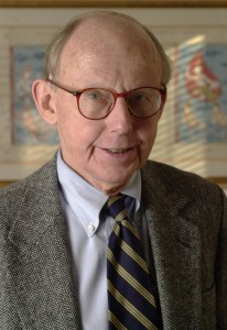 Samuel Huntington, Harvard University's Albert J. Weatherhead University Professor. Staff Photo Jon Chase/Harvard University News Office