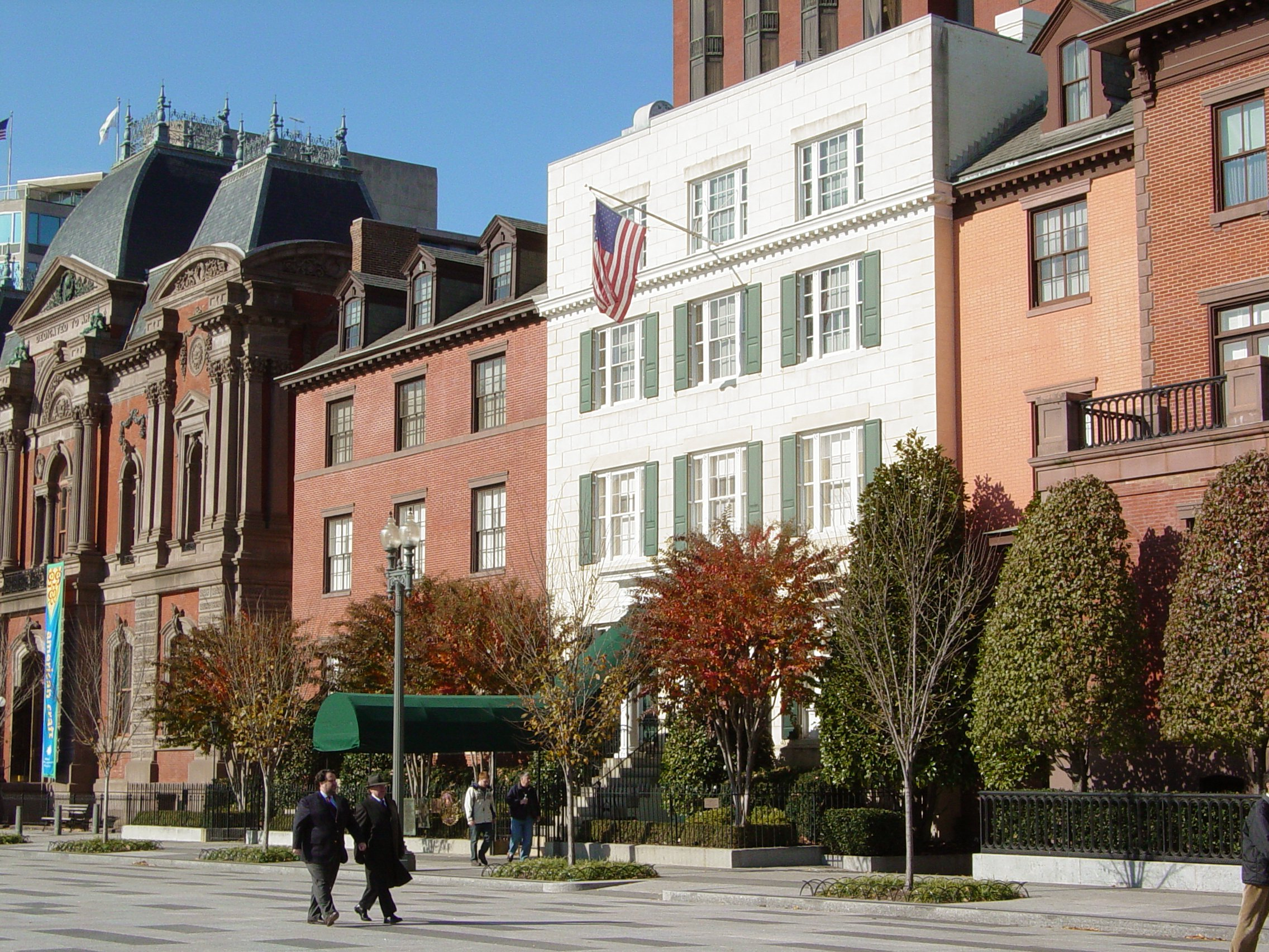 Obama 'Kicked Out' of Blair House for Howard