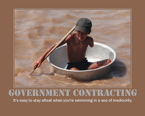 Government Contracting Demotivation