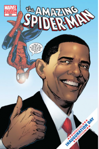 Amazing Spider-Man #583 Barack Obama Cover Variant