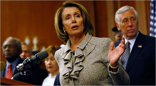 Nancy Pelosi Stimulus Photo