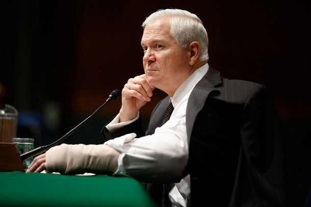 Robert Gates Afghanistan Testimony Photo