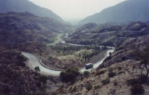 The Khyber Pass from the Pakistan side