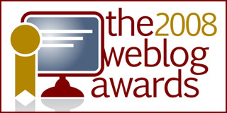 Weblog Award Winners 2008